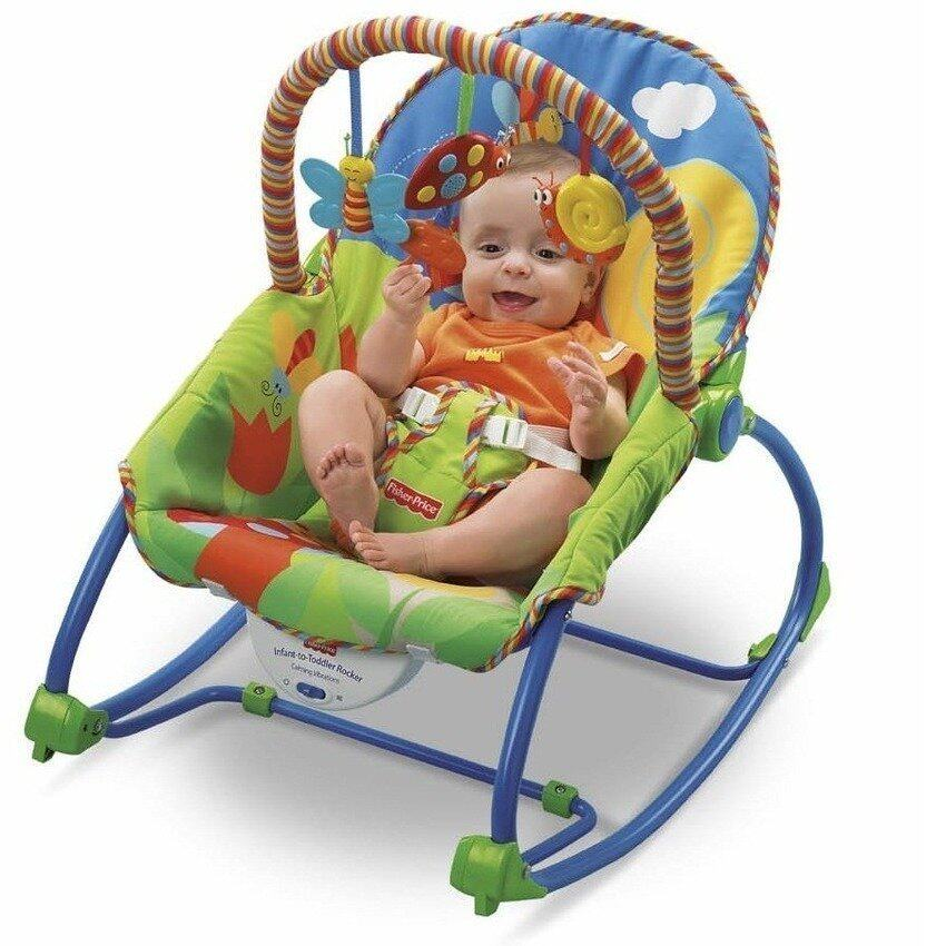 Fisher price newborn to toddler portable rocker bcd30 for Silla fisher price