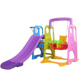 Malaysia Prices Indoor or Outdoor Children Slide and Swing and Basketball Net Playground