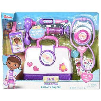 Malaysia Prices Doc McStuffins Toy Hospital Doctor's Bag Set - 8-Pieces
