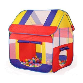 Malaysia Prices Playhut Castle Tent + Free Crawling Mat and Playing Ball