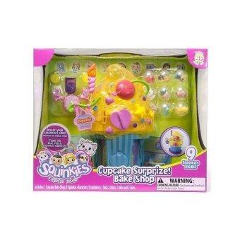 Malaysia Prices Squinkies Deluxe Playset - Cupcake Surprize Bake Shop (Age: 4 years and up)