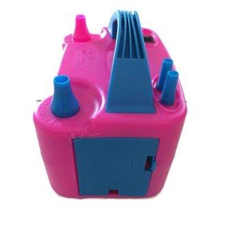 Malaysia Prices Dual Nozzle Portable Electric Balloon Pump Inflator