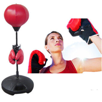 Malaysia Prices Punching Ball Fighting Bag Fitness Equipment Red