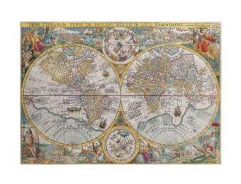 Malaysia Prices Ravensburger Historical Map 1500pc Jigsaw Puzzle