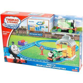 Malaysia Prices Thomas & Friends Motorized Railway Percy's Wash & Shine Adventure