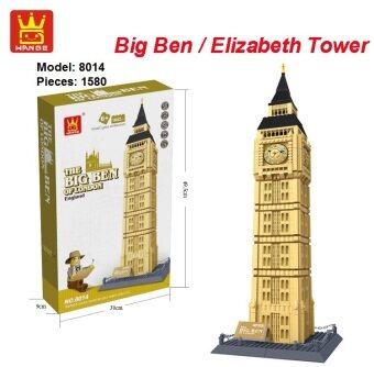 Malaysia Prices WANGE 8014 Tower Series – The Big Ben of London, UK / Elizabeth Tower