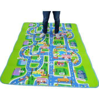 Malaysia Prices (200*160*0.5CM)Infant children eva foam puzzle play mat baby alfombra flooring room playmate for kids activity floor crawling mat with carpet