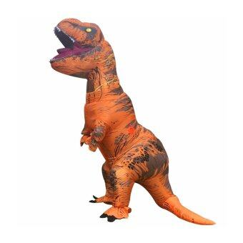 Malaysia Prices Inflatable Jurassic World T-Rex Costume Adult Fancy Dress (220CM)