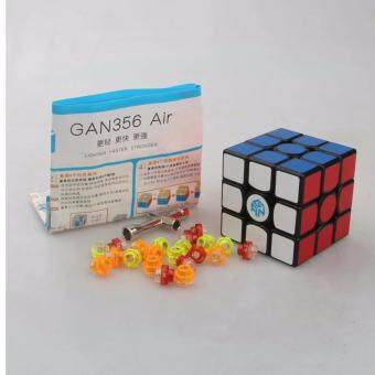 Malaysia Prices Gans Puzzle Gan356 Air 3x3 Master/Advanced/Standard Black/white/Primar Cubo Magico Magic Cube Speed Drop Shipping