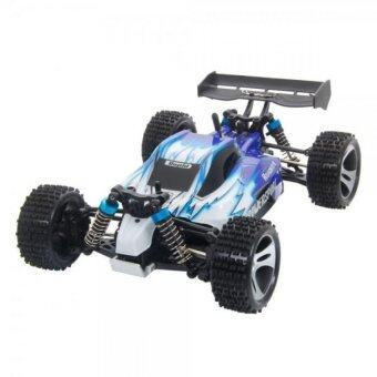 Malaysia Prices WLtoys VORTEX A959 1:18 Full Scale 4WD Off-Road Buggy RC Car with Shock Absober - Blue