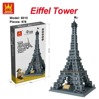 Malaysia Prices WANGE 8015 Tower Series – The Eiffel Tower of Paris