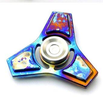 Malaysia Prices Hand Spinner Tri-Spinner Fidget Autism ADHD Alloy Titanium Finger Gyroscope Focus Decompression Toy