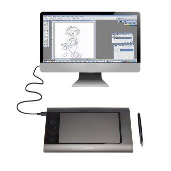 Malaysia Prices MAXINDA H58L Graphic Drawing Professional Art Tablet