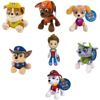 Malaysia Prices PAW PATROL PLUSH PUP PALS , COMPLETE SET OF ALL 7 - RYDER ZUMA SKYE RUBBLE ROCKY MARSHALL CHASE