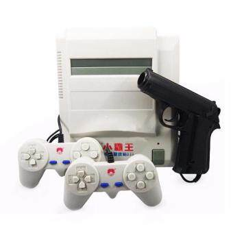 Malaysia Prices Classic NES FC Retro Video Game Console D31 (Free Gun and Gun Game Cartridge)(Grey)
