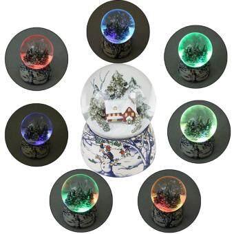 Malaysia Prices JNTworld Music Box Musical Toy Snow Luminous Crystal Ball Christmas Birthday Gift