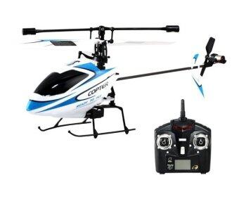 Malaysia Prices WLTOYS 2.4G V911 4 Channel Copter Series RC Helicopter (White)