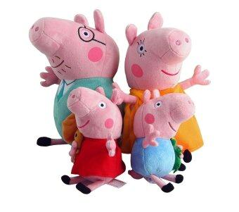 Malaysia Prices Peppa Pig Family Set of 4 Soft Toy - Summer Design