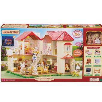 Malaysia Prices Sylvanian Familes Calico Critters Luxury Townhome Gift Set