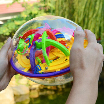 Malaysia Prices 3 Types Super Challenge Perplexus Maze Ball 3D Magical Intellect Ball Labyrinth Puzzle Ball IQ Balance Toy Brain Teaser