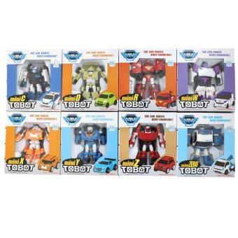 Malaysia Prices Tobot Mini Series Transforming Robot 8 in 1 (C,D,R,W,X,Y,Z,Zero) (Model 238)