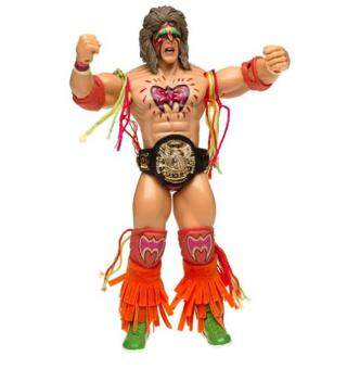 Malaysia Prices WWE Classic Ultimate Warrior Series 1 Rare