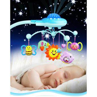 Malaysia Prices Music rotating projection bed bell Hanging Musical Lullaby for Infant Baby Bed Bell