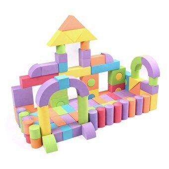 Malaysia Prices GDS Baby Baby Eva Large Soft Sponge Foam Building Blocks Assembledlarge Installed Children Early Lesson Intelligence Toys