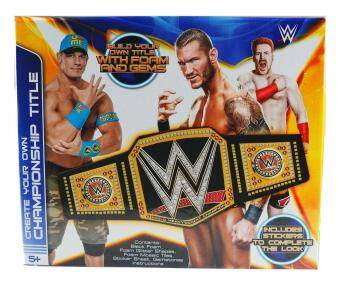 Malaysia Prices Make Your Own WWE Wrestling Champion Title Belt - Boys Craft Kit