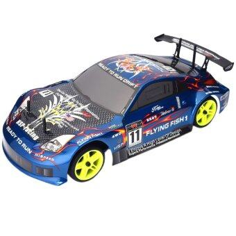 Malaysia Prices Yika HSP Rc 1/10 Scale 4wd Nitro Gas Power Racing Xstr High Speed Remote Control Drift Car 94122 (Multicolor)