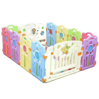Malaysia Prices Children Toddler Kids Playpens Safety Fences With Safety Gate and Mini Games
