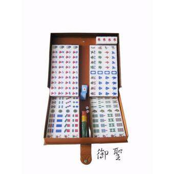 Malaysia Prices PREMIUM A1 SIZE MALAYSIA MAHJONG 4PLAYER CRYSTAL GOLD with PVC Case
