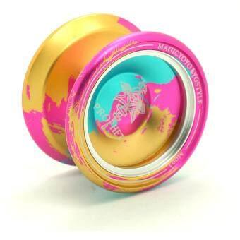 Malaysia Prices Magicyoyo Metal Ring Alloy Ball Metallic Yo-Yo Gives A Child A Fun Gift