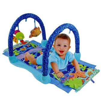 Malaysia Prices Baby Kid Child Play Musical Musical Fitness Frame Gym Educational Rattle Activity Frame Game Playing Crawling Blanket Carpet Mat Educational Toy