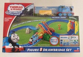 Malaysia Prices Thomas & Friends Motorized Railway Figure 8 Drawbridge Set