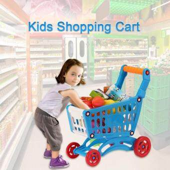 Malaysia Prices HLY Coolplay Kids Small Shopping Cart Supermarket Handcart Children Toystorage