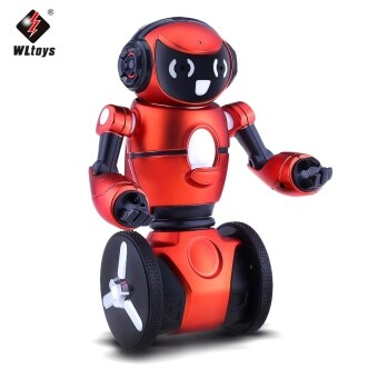 Malaysia Prices WLtoys F1 2.4G 3-Axis Gyro Intelligent Gravity sensor RC Smart Robot Kids Toy (Red)