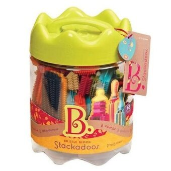 Malaysia Prices B.Toys Bristle Block Stackadoos