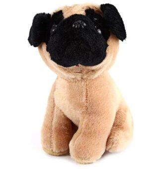 Malaysia Prices 7 Inch Plush Cute Dog Toy Lovely Small Pug Dog Cute Stuffed Doll Gift