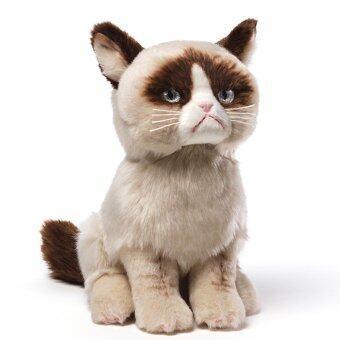 Malaysia Prices Gund Grumpy Cat Plush Stuffed Animal Toy