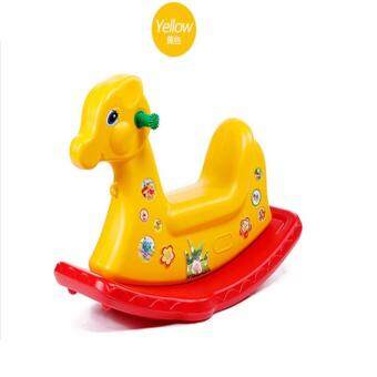 Malaysia Prices Rocker Kid Deer Yellow Color Horse