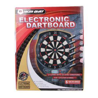 Malaysia Prices Winmax Electronic Soft Tip Dartboard Set LED Display with 6 darts