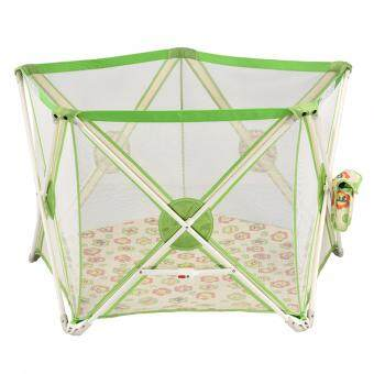 Malaysia Prices Twomother Playpen for Kids Light Green 5 Edges