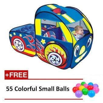 Malaysia Prices Chariots Of Fire Play Hut Playhut / Play House / Play tent - Free 55 Balls (141 x 108 x 102 cm)