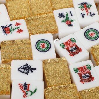 Malaysia Prices 4 Player Mahjong Crystal Gold Set