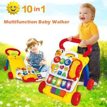 ... 10 in 1 And Sit to Stand Baby Learning Walker Steps Walker and Walk Behind Multifuction