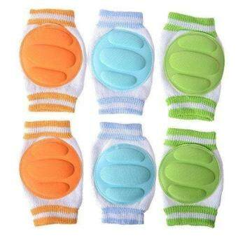 Infant Toddler Baby Knee Pad Crawling Safety Protector (Pack of 3Pairs)