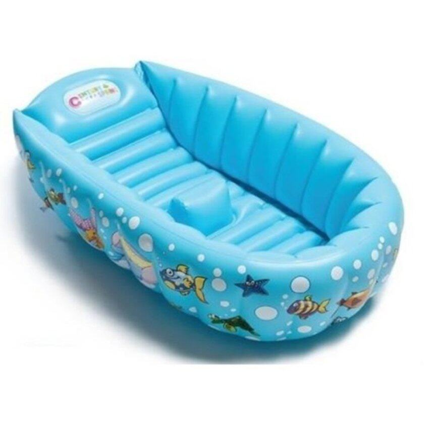 munchkin white hot inflatable safety duck bath tub. Black Bedroom Furniture Sets. Home Design Ideas