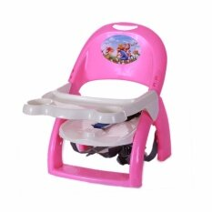 JOY Kids Baby Booster Seat Sitting Chair With Dining Table Food Tray And Safety Belt Foldable Portable