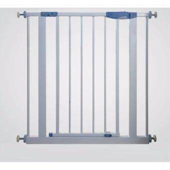 Mamakiddies (103-109cm) Baby Safe Security Safety Gate and Extn 7cm x 4 Fit 103-109cm